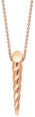 ginette_ny Mini Unicorn Horn Necklace - Rose Gold