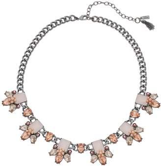 Vera Wang Simply Vera Pink Cluster Collar Necklace