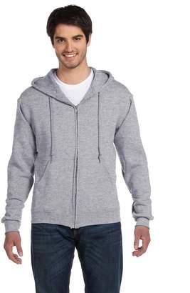 Fruit of the Loom Men's Full Zip Hoodie Sweatshirt, X Large
