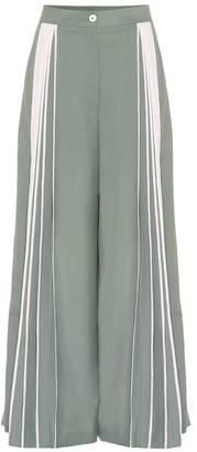 BODICE Pleated wide-leg wool pants
