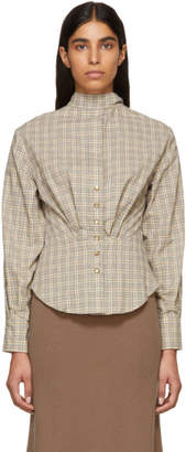 Isabel Marant Multicolor Check Reiki Shirt