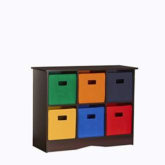 RiverRidge 6 Bin Storage Cabinet for Kids