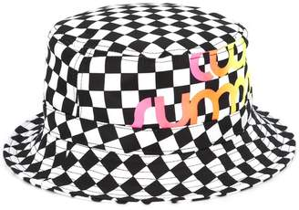 Ports V Cool Summer checkered print hat