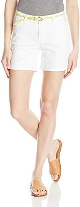 Lee Women's Modern Series Midrise Fit Belted Twila Short