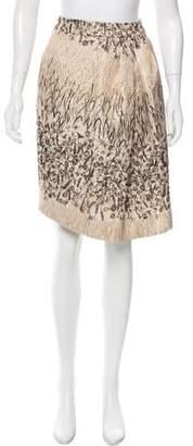 Pauw Brocade Abstract Skirt