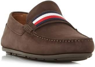 Tommy Hilfiger Corp Tape Flag Webbing Loafer Shoes