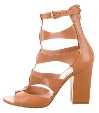 Sigerson Morrison Leather Cage Sandals