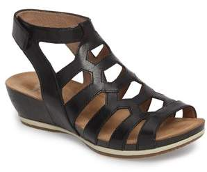 Dansko Valentina Caged Wedge Sandal