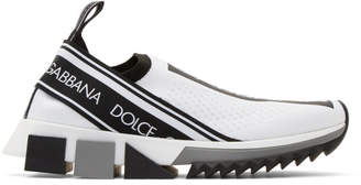 Dolce & Gabbana White Sorrento Sneakers