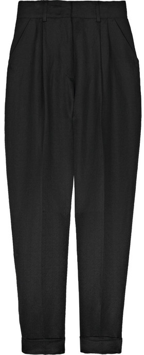 McQ Tapered silk-blend pants