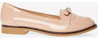 Dorothy Perkins Womens Wide Fit Nude 'Lizzy' Loafers