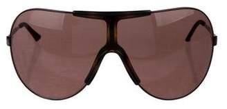 Dolce & Gabbana Shield Tinted Sunglasses