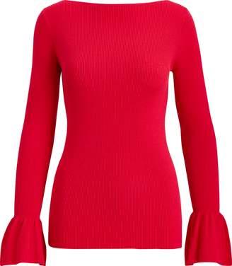 Ralph Lauren Bell-Sleeve Sweater