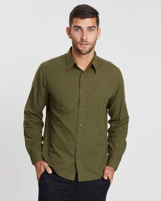J.Crew W&B Cotton Hemp Shirt