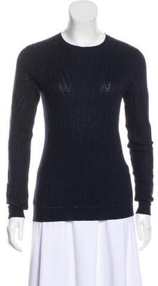 Lela Rose Long Sleeve Wool-Blend Sweater