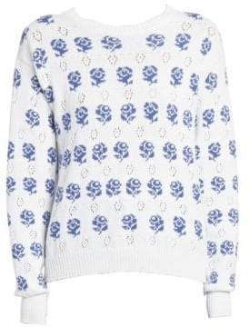 Kenzo Rose Jacquard Sweater
