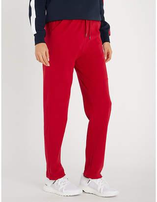Tommy Hilfiger Logo-embroidered stretch-cotton pyjama bottoms