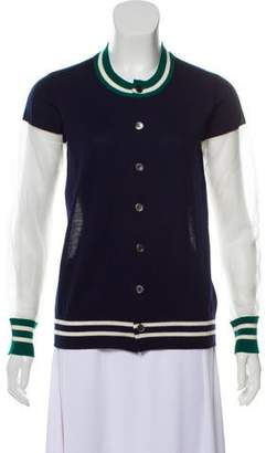 Junya Watanabe Knit Button-Up Cardigan