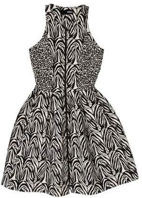 Nicholas Jacquard Mini Dress