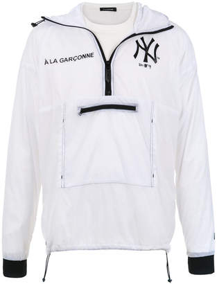 New Era À La Garçonne hooded jacket