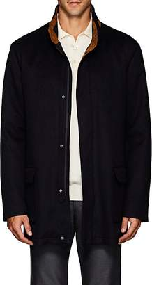 Barneys New York Men's Suede-Trimmed Cashmere Felt Field Jacket