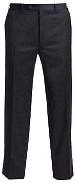 Canali Men's Basic Wool Trousers