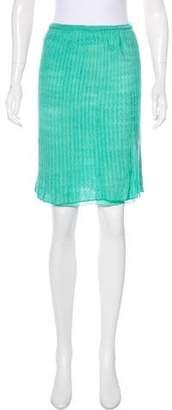 Missoni Fluted Chevron Skirt