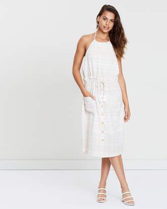 MinkPink Au Naturale Halter Dress