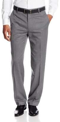 Haggar Men's Gabardine Tailored-Fit Flat-Front Suit-Separate Pant