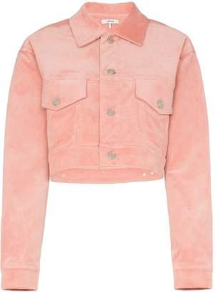 Ganni Ridgewood cropped corduroy jacket