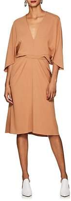 Narciso Rodriguez Women's Draped Jersey Midi-Dress