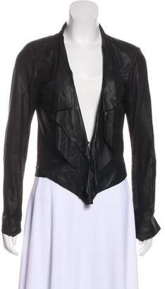 La Marque Leather Structured Jacket