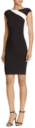 Lauren Ralph Lauren Color-Block Dress $135 thestylecure.com