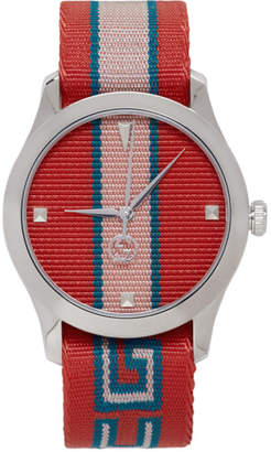 Gucci Red G-Timeless Watch