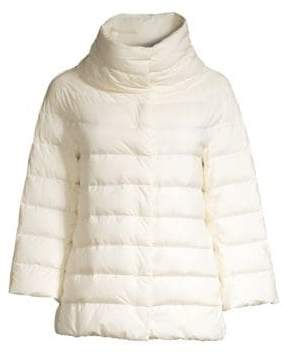 Herno Matte Quilted Cape