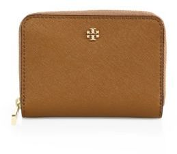 Tory Burch Tory Burch Robinson Saffiano Leather Zip Coin Case