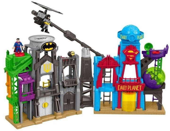 Fisher Price Imaginext DC Super Friends Super Hero Flight City