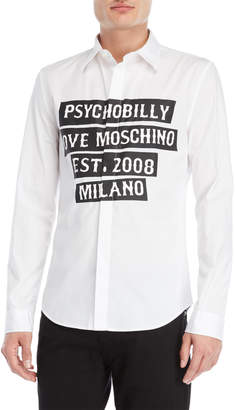 Love Moschino Psychobilly Sport Shirt