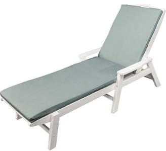 Ateeva Indoor/Outdoor Sunbrella Chaise Lounge Cushion