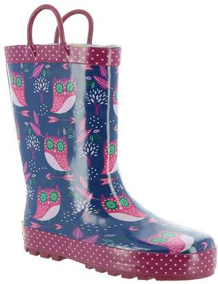 Western Chief Baby Girl's Owl Dream Rain Boots (Toddler/Little Kid) Boot