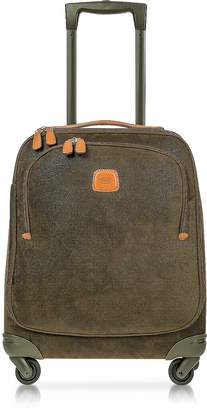 Bric's Life Olive Green Micro Suede X-Small Trolley