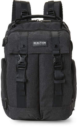 Kenneth Cole Reaction Charcoal Flap Pocket Backpack