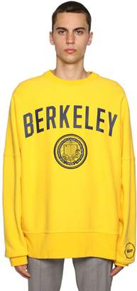 Calvin Klein University Printed & Embroidered Sweater
