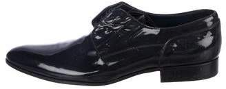 Louis Vuitton Patent Leather Derby Shoes