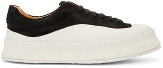 Jil Sander Black Pony Sneakers