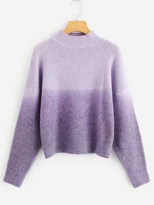 Shein Color Block Drop Shoulder Sweater