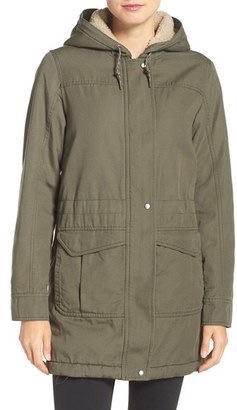 Women's Patagonia 'Prairie Dawn' Canvas Parka $249 thestylecure.com