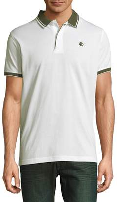Roberto Cavalli Men's Piquet Cotton Polo