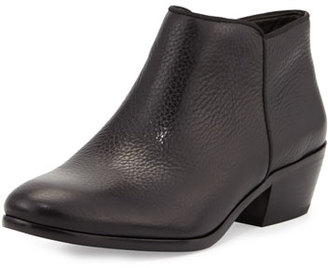Sam Edelman Petty Leather Ankle Bootie, Black $120 thestylecure.com