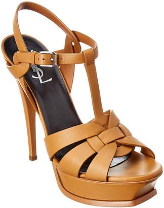 Saint Laurent Tribute 105 Leather Sandal